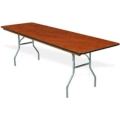 Rental store for TABLE, 6  BANQUET, WOODEN in O'Fallon MO