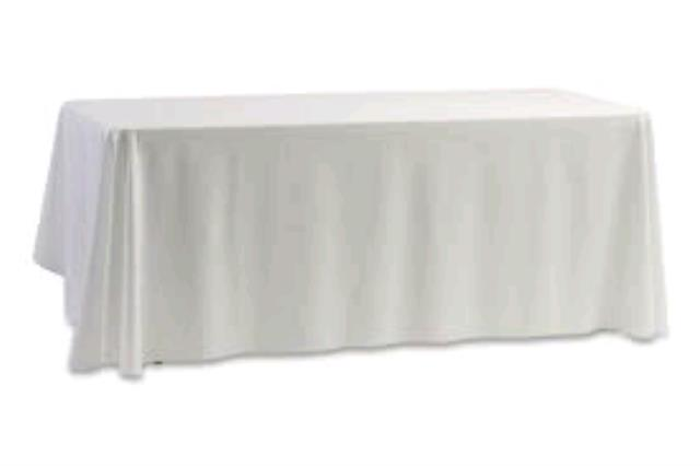 Where to find LINEN-BANQUET TABLE 54 X 120 in O'Fallon